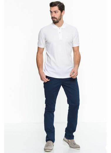 Comienzo Polo Yaka Tişört Beyaz